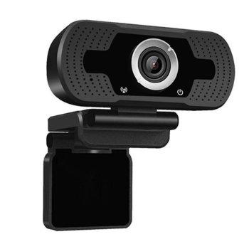 Уеб камера Tellur, микрофон, Full HD(30FPS), USB, черна image