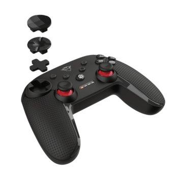 Геймпад Trust GXT 1230 Muta, безжичен, за PC/Nintendo Switch, Bluetooth, USB, черен image