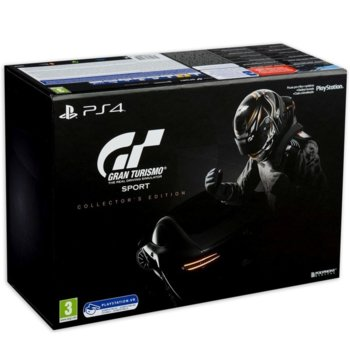 Игра за конзола Gran Turismo Sport Collectors Edition, за PS4 image
