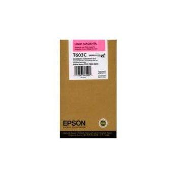 ГЛАВА ЗА EPSON STYLUS PRO 7800/9800 - T603C - Light Magenta - P№ C13T603C00 image