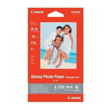 Хартия Canon GP-501 10x15 cm, Glossy, 10 страници image