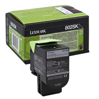 КАСЕТА ЗА LEXMARK CX310/410/510 Black 80C2SK0 (разопакован продукт) - P№80C2SK0 - Заб.:2.5K image