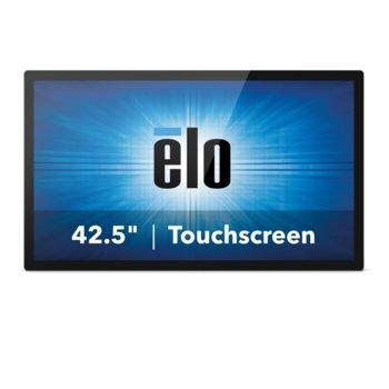 """Интерактивен дисплей ELO ET4343L-2UWA-0-MT-D-G, 42.5""""(108.0 cm), Full HD, Capacitive multi touch, VGA, HDMI, черен image"""
