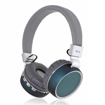 Слушалки FE-15, безжични, микрофон, различни цветове image