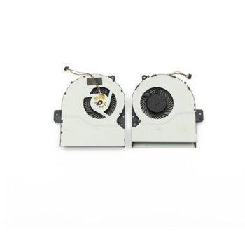 Вентилатор за лаптоп Asus, съвместим с Asus X751 image
