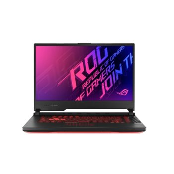 "Лаптоп Asus ROG STRIX G15 G512LU-HN080 (90NR0351-M03020), шестядрен Comet Lake Intel Core i7-10750H 2.6/5.0 GHz, 15.6"" (39.62 cm) Full HD 240Hz IPS Anti-Glare Display & GF 1660Ti 6GB, (HDMI), 8GB DDR4, 512GB SSD, 1x USB 3.2 Type C, No OS  image"