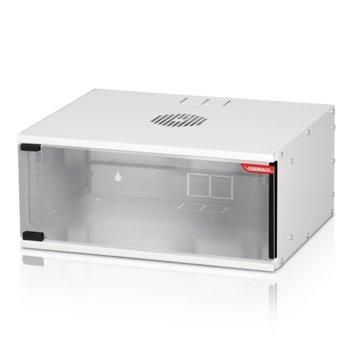 "Комуникационен шкаф Formrack SH-4U, 19"", 4U, 512 x 400 mm, сив image"