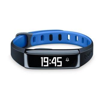 Фитнес гривна Beurer AS80, Bluetooth, сензор : крачки, изгорени калории, IPX4, черна image