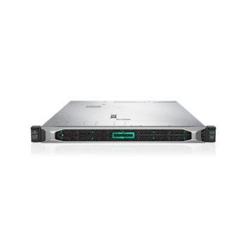 Сървър HPE DL360 G10 (P06453-B21), осемядрен Intel® Xeon® Scalable 4110 2.1GHz, 16GB DDR4 RDIMM, 4x 1GbE, 5x USB 3.0, 500W захранване image