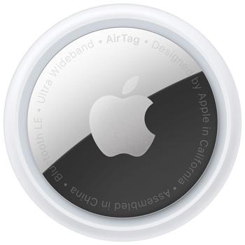 Тракер Apple AirTag, Bluetooth, Ultra Wideband технология, бял image