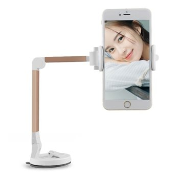 Универсална стойка за телефон Earldom EH-13, подвижна на 360 градуса, съвместима с устройства от 3.0 до 6.5 инча, различни цветове image