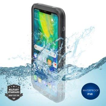 Калъф за Huawei Mate 20 Pro, хибриден, 4Smarts Rugged Active Pro STARK 4S467497, удароустойчив, водоустойчив, черен image