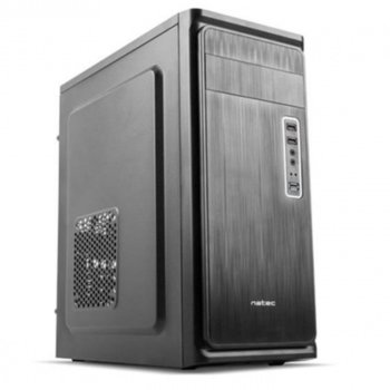 Кутия NATEC Fury Case Armadillo NPC-0855, ATX/Micro ATX/Mini ATX, 1 x USB 3.0 / 2x USB 2.0, черна, без захранване image