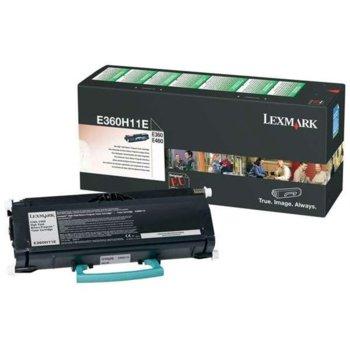 КАСЕТА ЗА LEXMARK E360/E460 - Return program cartridge - P№ E360H11E - заб.: 9000k image