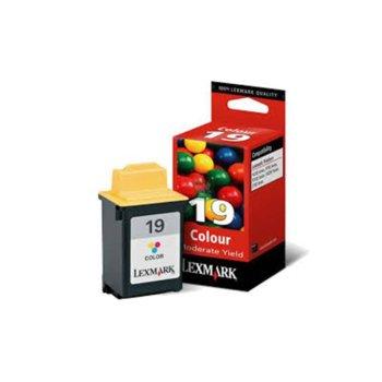 ГЛАВА LEXMARK ColorJetPrinter P700/ P3100/ Z700/ F4200/ X4200 - Color - P№ 15M2619E /19/ - заб.: 260p image