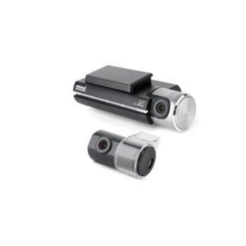 Видеорегистратор IROAD Q7-2CH-16G, камера за автомобил, FullHD(1920 x 1080/30fps), Micro SD до 128GB, Wi-Fi image