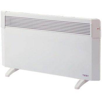Конвектор Tesy CN 04 250 MIS F + КРАЧЕТА, свободностоящ уред, защита срещу прегряване, механичен терморегулатор, 2500W, бял image