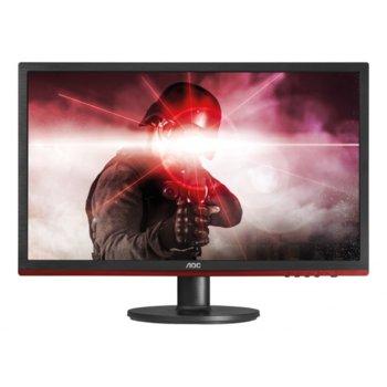 """Монитор AOC G2460VQ6, 24"""" (60.96 cm), TN панел, 75 Hz, Full HD, 1 ms, 80 000 000:1, 250 cd/m2, Display Port, HDMI image"""