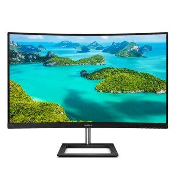 """Монитор Philips 271E1CA/00, 27"""" (68.58 cm) VA панел, 75 Hz, Full HD, 4 ms, 250 cd/m2, HDMI, VGA image"""