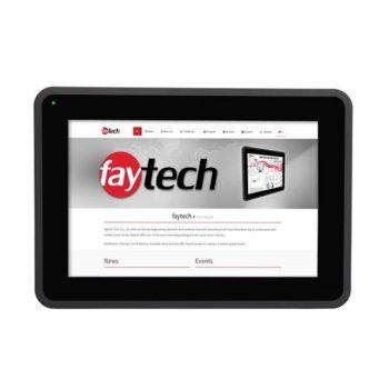 """Индустриален монитор Faytech FT101TMBCAPOB, 10.1"""" (25.65 cm) WXGA Touchscreen, HDMI, DVI-D, VGA image"""