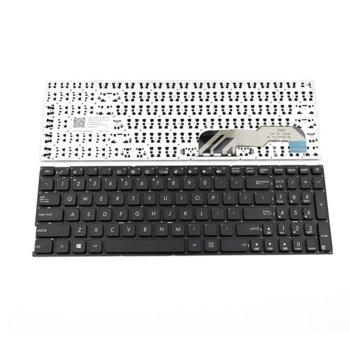Клавиатура за лаптоп Asus съвместима със серия X541, черна, без рамка с малък ентър (US) image