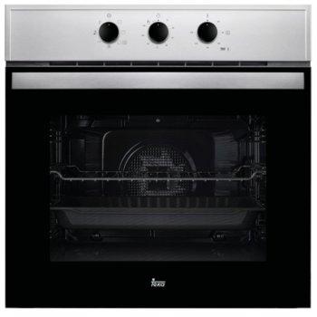 Фурна за вграждане Teka Wish HBB 605, клас А, 70 л. обем, 6 функции, вентилатор, таймер, система за водно почистване, черна image