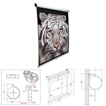 Екран Elite Screens 203.2 x 203.2 cm product