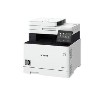 Мултифункционално лазерно устройство Canon MF742CDW, цветен принтер/копир/скенер, 600 x 600 dpi, 27 стр/мин, Wi-Fi, RJ-45, USB, A4 image