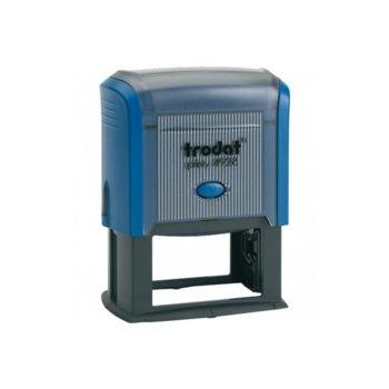 Автоматичен печат Trodat 4928 син, 33/60 mm, правоъгълен image