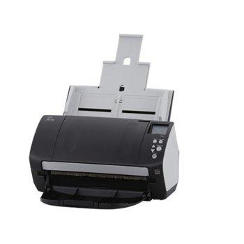 Скенер Fujitsu fi-7160, 600 dpi, A4, двустранно сканиране, ADF, USB, 120 стр./мин image