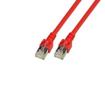 Пач кабел EFB Elektronik, Cat.5e, 2m, SFTP, червен image