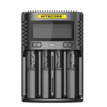 Зарядно устройство Nitecore UMS4, за батерии IMR, Li-ion, LiFePO4, Ni-Cd, Ni-Mh image