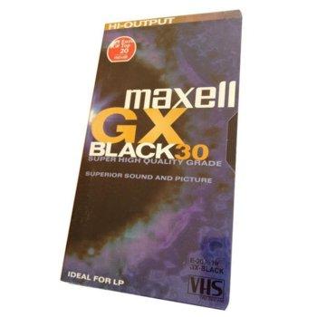 Видеокасета MAXELL E-30GX VHS, 30 min image