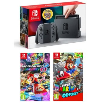 Nintendo Switch Mario Pack - Grey product