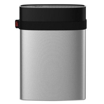 "Твърд диск 2TB Silicon Power Armor A85 (сребрист), външен, 2.5"", USB 3.0/2.0, водоустойчив image"