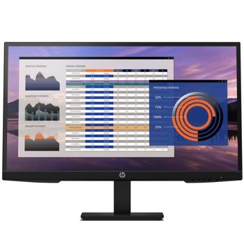 """Монитор HP P7h G4 FHD, 27"""" (68.58 cm) IPS панел, Full HD, 5ms, 250cd/m2, DisplayPort, HDMI, VGA, регулиране на височината image"""