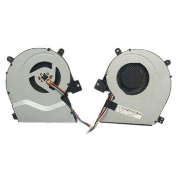 Вентилатор за лаптоп Asus, съвместим с Asus X551 X551CA X551MA X451 image