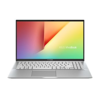 "Лаптоп Asus VivoBook S15 S531FL-BQ097 (90NB0LM1-M03070) (сребрист), четириядрен Whiskey Lake Intel Core i7-8565U 1.8/4.6 GHz, 15.6"" (39.62 cm) Full HD Anti-Glare Display & GF MX250 2GB, (HDMI), 8GB DDR4, 512GB SSD, 1x USB3.1 Type C, Free DOS image"