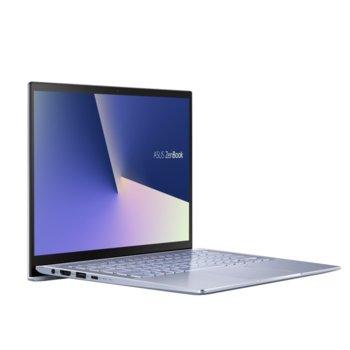 "Лаптоп Asus Zenbook UM431DA-AM011T (90NB0PB3-M00920), четириядрен Zen 2 AMD Ryzen 5 3500U 2.1/3.7GHz, 14.0"" (35.56 cm) Full HD Anti-Glare Display, (HDMI), 8GB DDR4, 512GB SSD, 1x USB 3.1 Type C, Windows 10 Home image"