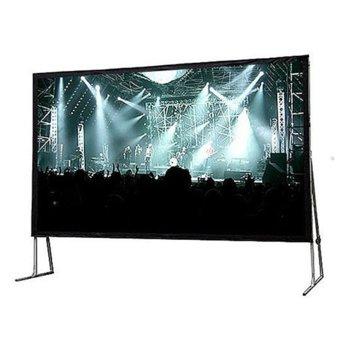 """Екран Avtek Fold 508, на стойка, 5280 x 3375 мм, 236"""" (599.44 cm), 16:10 image"""