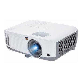 Проектор ViewSonic PA503S, DLP, SVGA(800x600), 22 000:1, 3600lm, HDMI, VGA, miniUSB Type B, RS232 image