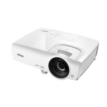 Проектор Vivitek DX263-EDU, DLP, 3D Ready, XGA (1024x768), 15000:1, 3500 lm, 2x HDMI, 2x VGA, USB, бял image