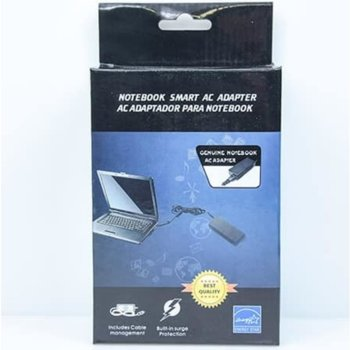 Захранване за лаптоп Fujitsu 20V/3.25A/65W, 2.5/5.5mm букса image