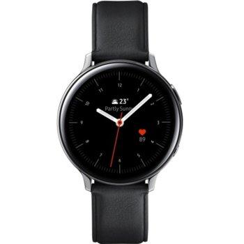 Смарт часовник Samsung Galaxy Watch Active2 SM-R820N (SM-R820NSSABGL), до 131 часа време за работа, неръждаема стомана, сребрист image
