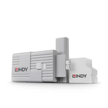 Блокери Lindy 40478, за заключваща система SD Port, 1 ключ, 4 портa image
