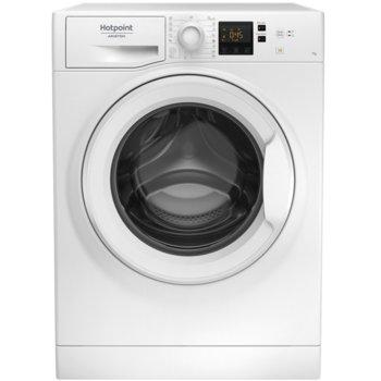 Пералня машина Hotpoint-Ariston NS823C W EU, клас A+++, капацитет 8 кг., 1200 об./мин, 15 програми, свободностояща, 60 cm, бяла image