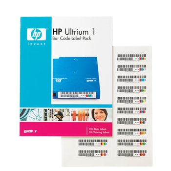 HP LTO1 Ultrium Bar Code label pack product