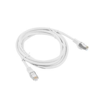 Пач кабел Lanberg PCF5-10CC-0050-W, FTP, cat.5e, 0.5м, бял image
