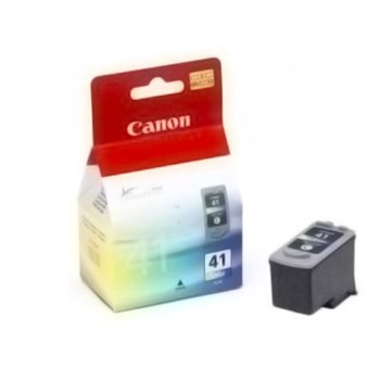 ГЛАВА CANON PIXMA iP 1200/1600/2200/6210D/62200D/ MP 150/170/450 - Color ink cartridge - CL-41 - P№ 0617B001 - заб.: 3x4ml. image