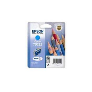 ГЛАВА ЗА EPSON STYLUS C 70/C80 - Cyan - P№ T 0322 product